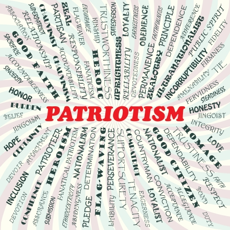 illustration of patriotism concept    Stock Vector - 19318975