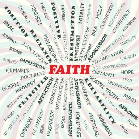 gospel: illustration of faith concept    Illustration