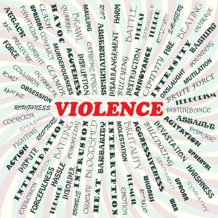 illustration of violence concept    Stock Vector - 19870979