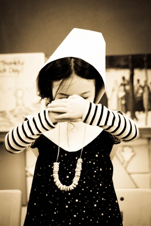 Little Pilgrim Girl