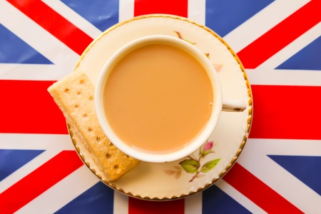 british flag: English Tea