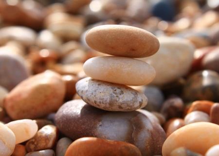 topple: Pebble stack