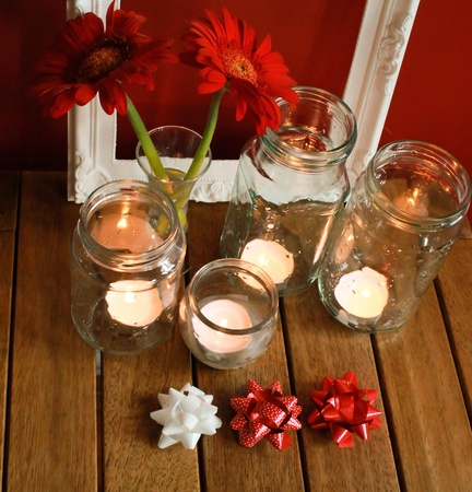 yule tide: Christmas decorations