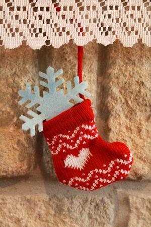 clothing: Hanging christmas stocking