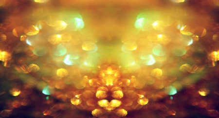 shiny: Gold glittery heart