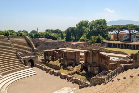 Ruins of Pompeii Reklamní fotografie