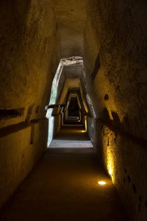 sibyl: Cave of the Sibyl Stock Photo