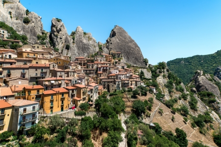 Castelmezzano Stock Photo