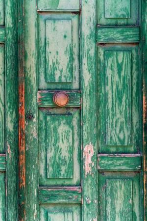 puerta verde: Textura Puerta verde Foto de archivo