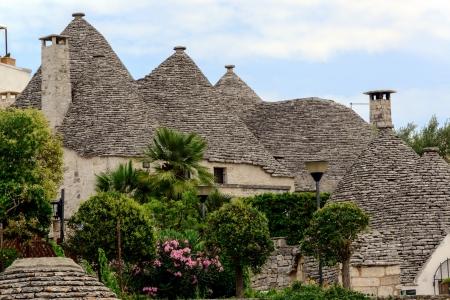 trulli: Alberobello Turlli Village