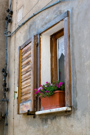 shutter: Italian window with shutter