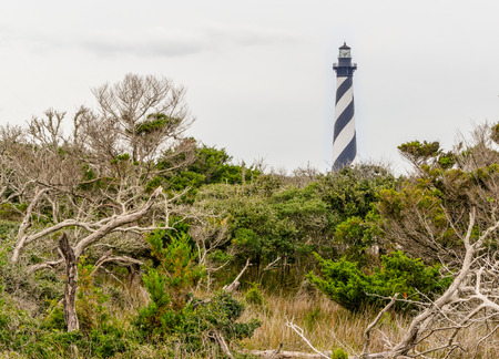 hatteras: The lighthouse at Cape Hatteras,North Carolina
