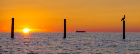 Sunrise on the Chesapeake Bay in VIrginia Beach, Va.