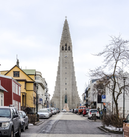 The Hallgrimskirkja is a Lutheran Church in Reykjavik Iceland. The church is named after the Icelandic poet and clergyman Hallgrimur Petursson.