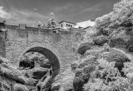 Puente Viejo (the Old Bridge) dating from the 16th Century