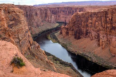 Glen Canyon National Recreation area encompasses Lake Powell and lower Cataract Canyon in Utah and Arizona.
