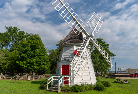 Windmill structure located in Yorktown, Va