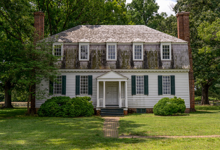 House where articals of surrender were talked over between Gen Cornwallis of the British and General George Washington.