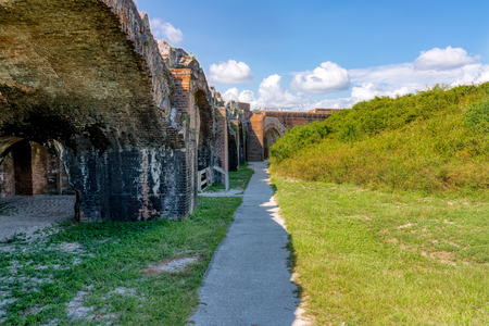 Civil War era Ft. Pickens on Santa Rosa Island near Pensacola Beach, Fl.