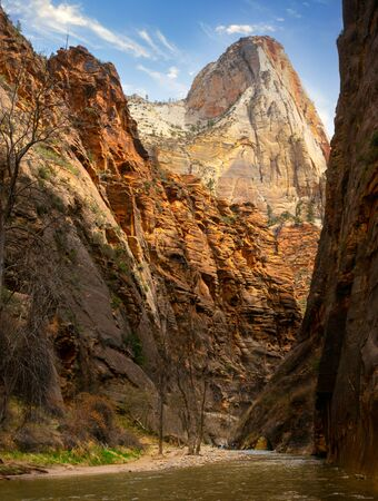 The Narrows within Zion National Park, Utah