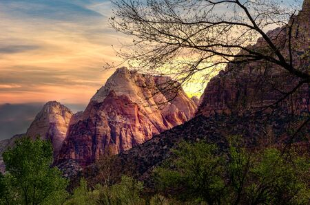 Zion National Park is a southwest Utah nature preserve distinguished by Zion Canyon's steep red cliffs