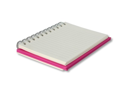 notebook .,blank page