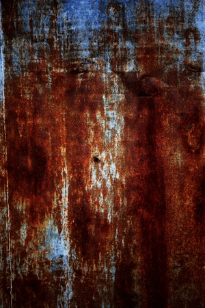 galvanize: rust on a galvanize sheet
