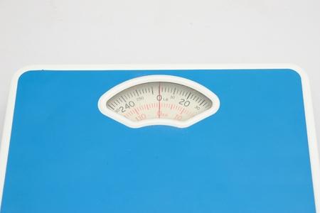 heaviness: Weighing machine Stock Photo