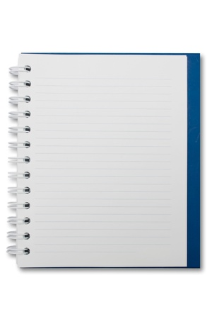 Mini blank page notebook Stock Photo - 9359660