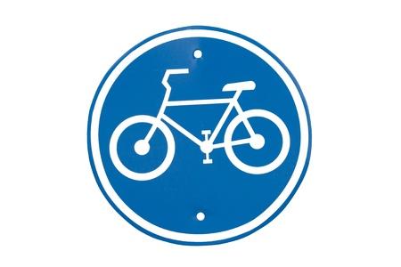 bicycle lane: Bicycle lane ,Traffic sign