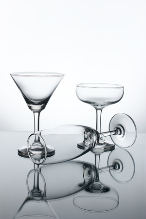 Cocktail glass photo