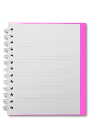 Mini blank page notebook Stock Photo - 9431022