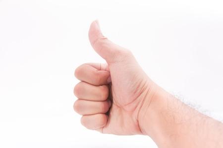 A hand show.,LIKE Stock Photo - 9893790