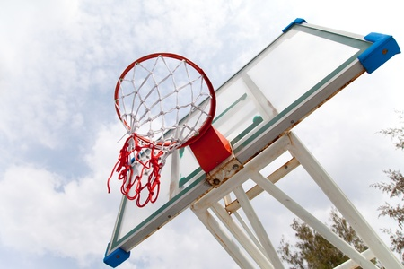 Basketball basket Stock Photo - 12936411