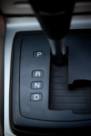 Gear auto position P parking Stock Photo