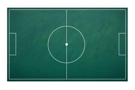 Planing board for plan tactic in football match photo