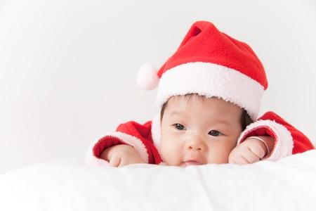 Little girl with santa costume Stock Photo - 16906192