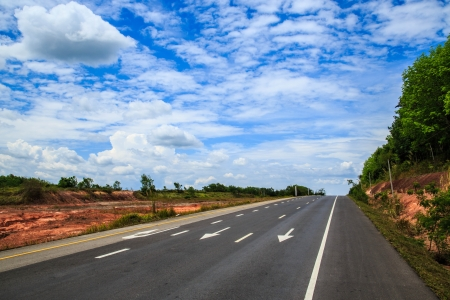 seaboard: Southern seaboard road, south of Thailand,