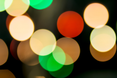 night out: Abstract bokeh light background of the night. christmas bokeh background with out of focus lights.