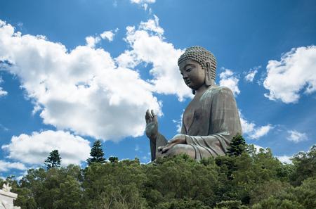 Tian Tan Buddha, Big buddha - the worlds tallest outdoor seated bronze Buddha located in Nong ping Hong Kong.
