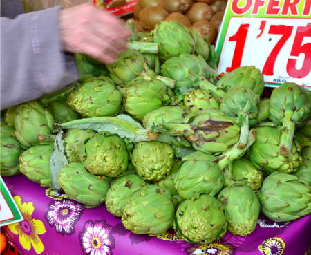 As with artichokes