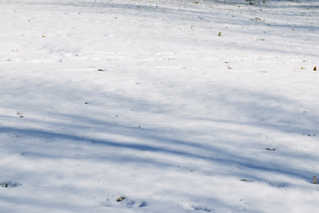 Snowy weather background