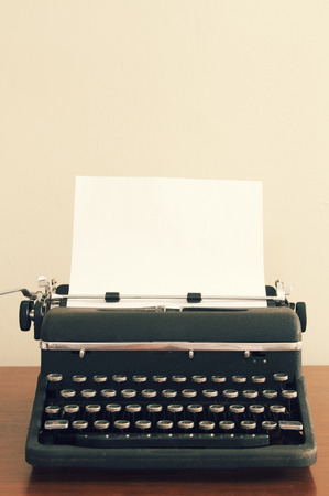 Vintage Typewriter Reklamní fotografie