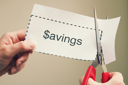 Coupon Savings Stock fotó