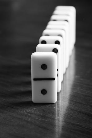 Game of Dominoes Stockfoto - 95549133
