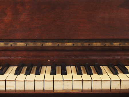 Old Antique Piano