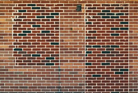 Blank Brick Wall 写真素材