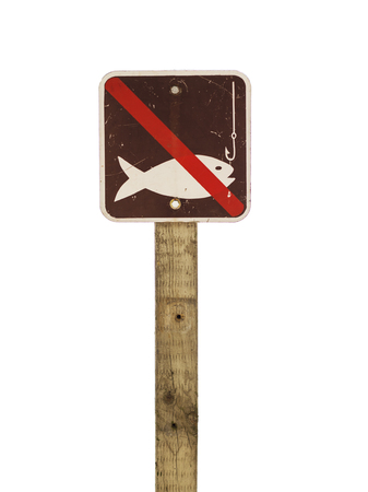 Do Not Fish Sign