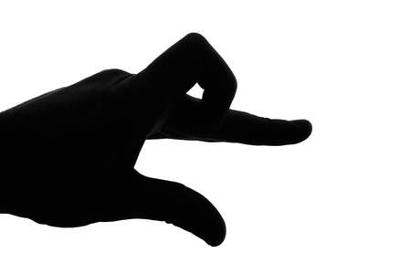 Hand Puppet Silhouette