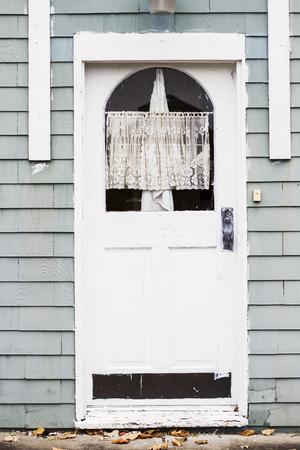 White Antique Door